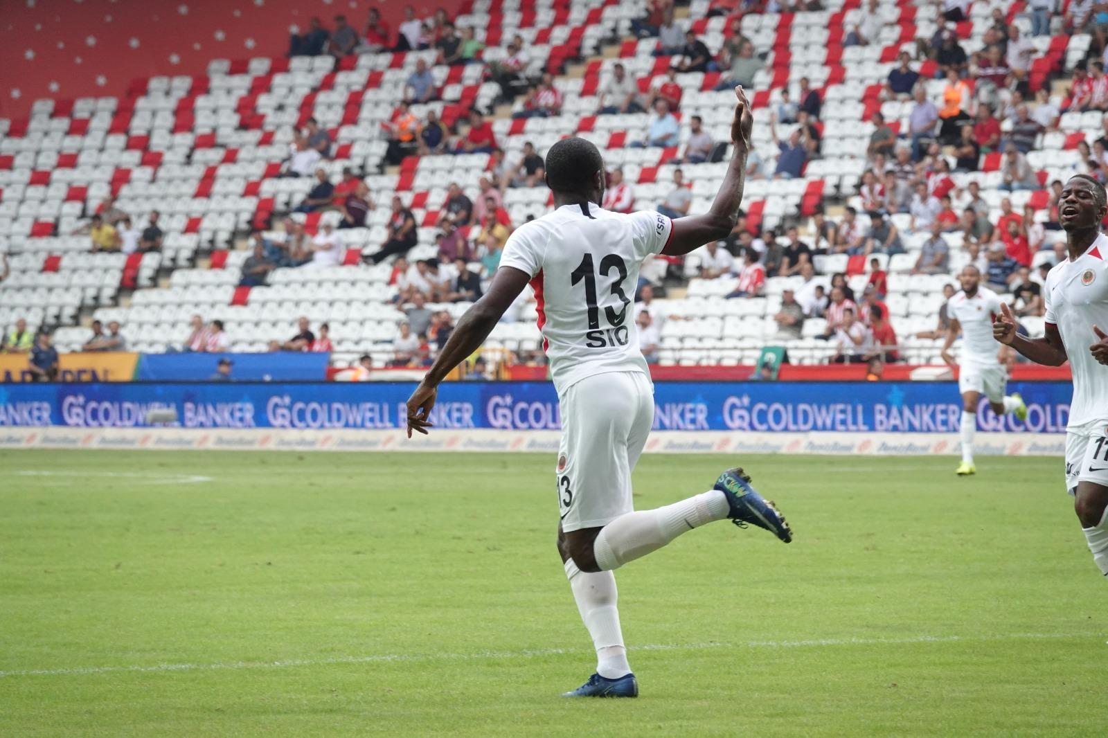 Sio'nun Süper Lig'de kaç gol hedefi var?