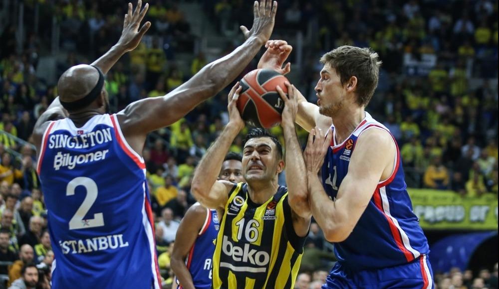 Fenerbahçe Beko ve Anadolu Efes finale kaldı