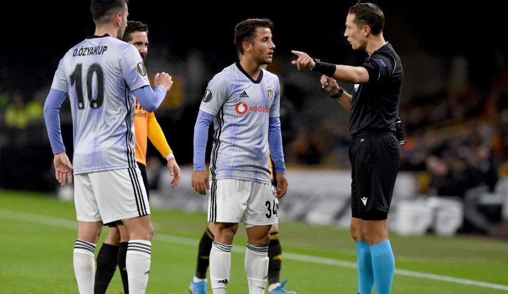 Beşiktaş, Avrupa Ligi'ne mağlubiyetle veda etti