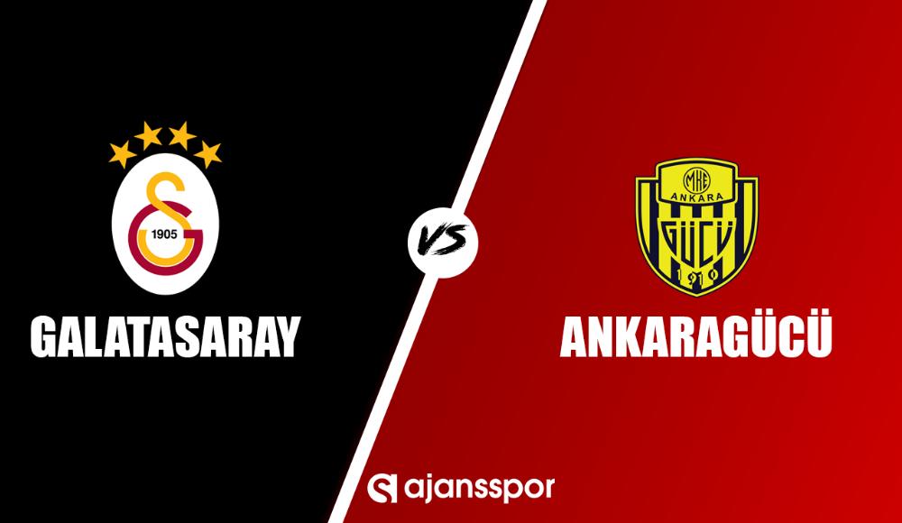 Galatasaray - Ankaragücü şifresiz maç yayını!