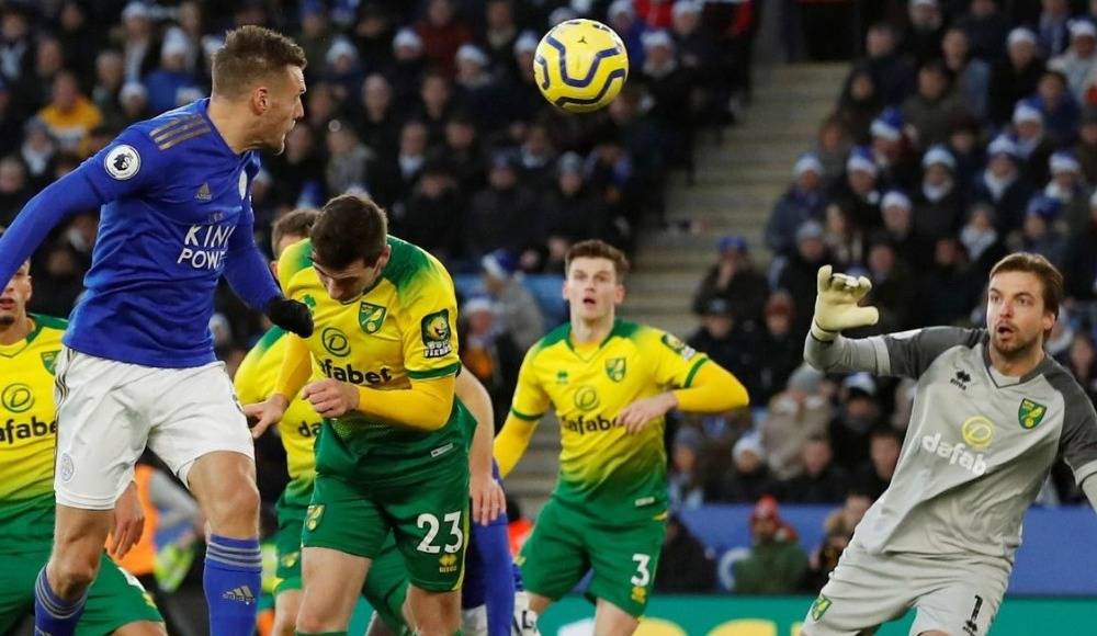 Leicester City 8 maç sonra puan kaybetti! 1-1