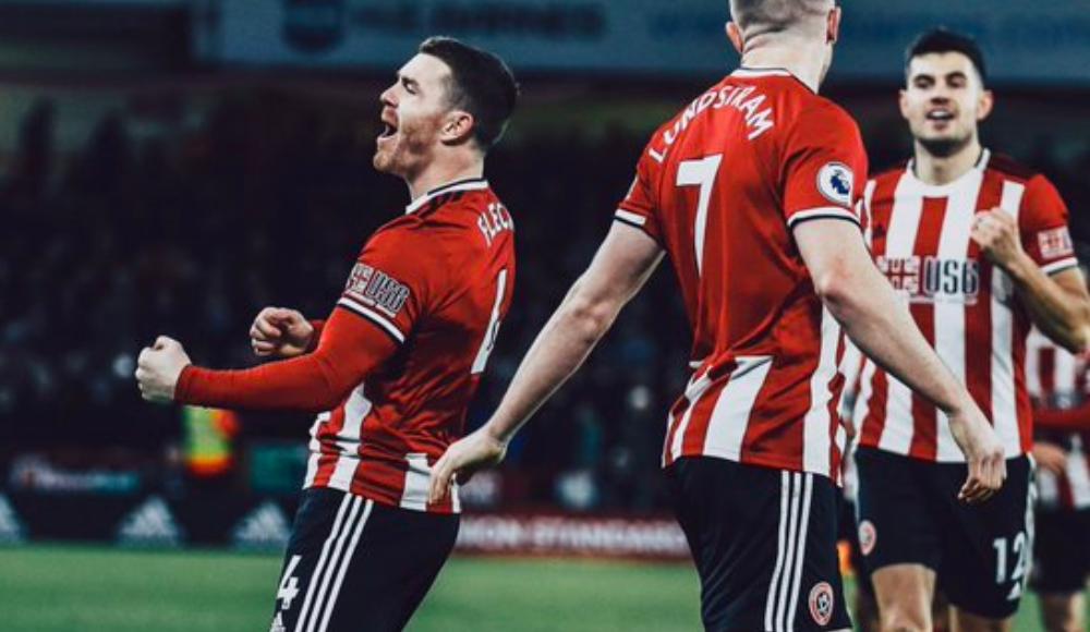 Sheffield United, sahasında Aston Villa'yı 2-0 yendi
