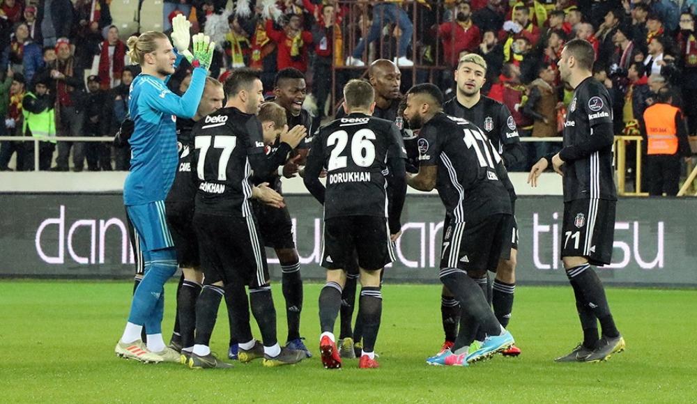Beşiktaş - Yeni Malatyaspor maçının muhtemel 11'leri...