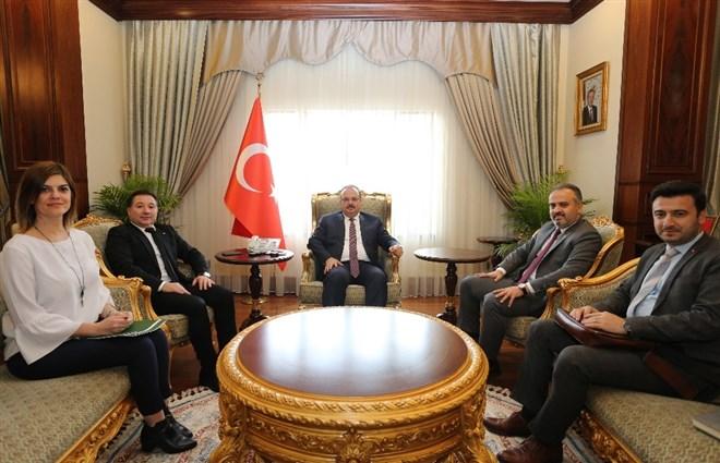 Bursaspor'a yardım kampanyasının startı verildi