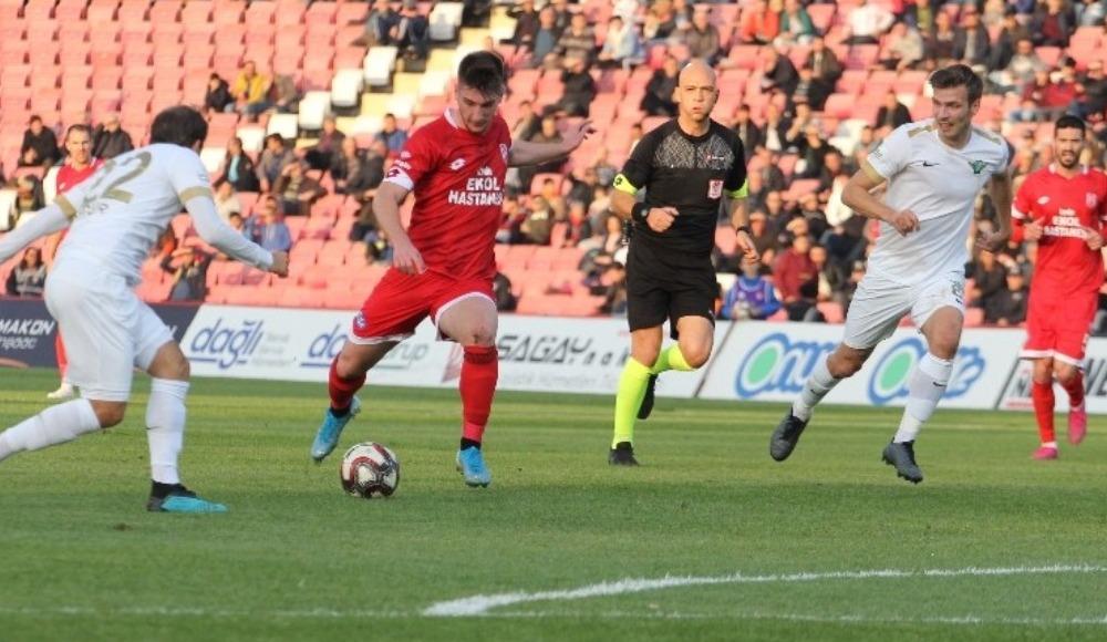 Balıkesirspor - Akhisarspor maçı başladığı gibi bitti! 0-0