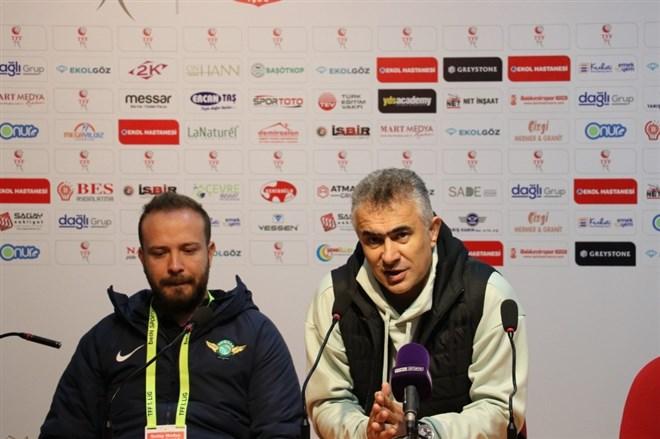 """Mehmet Altıparmak: """"3-4 tane yüzde yüz gol kaçırdık"""""""