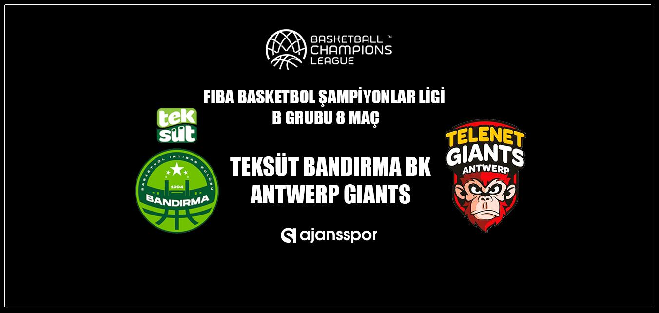 Gaziantep Basketbol - Nymburk (Canlı Skor)
