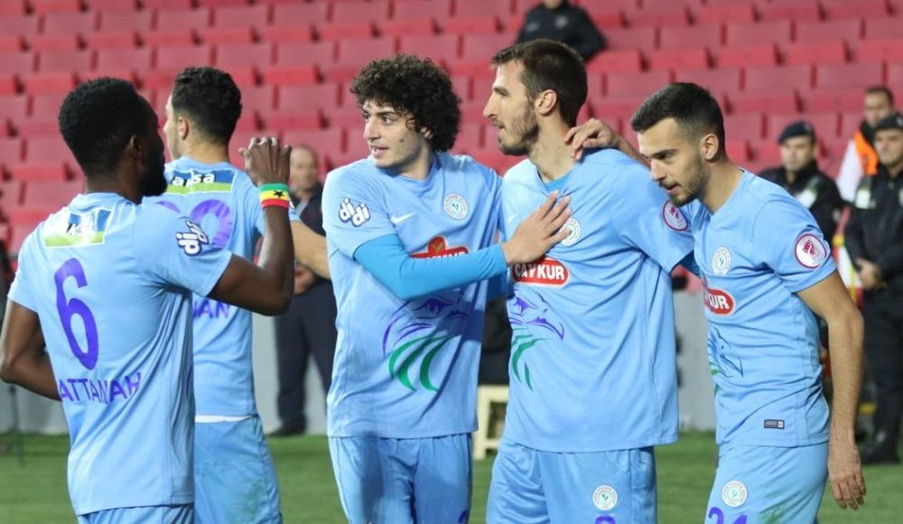 Çaykur Rizespor kupada tur atladı! 1-1