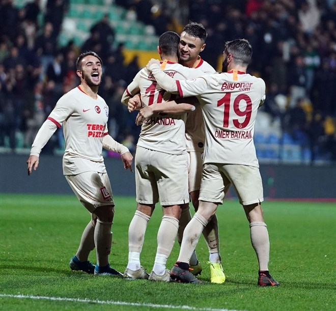 Galatasaray 4 golle turladı