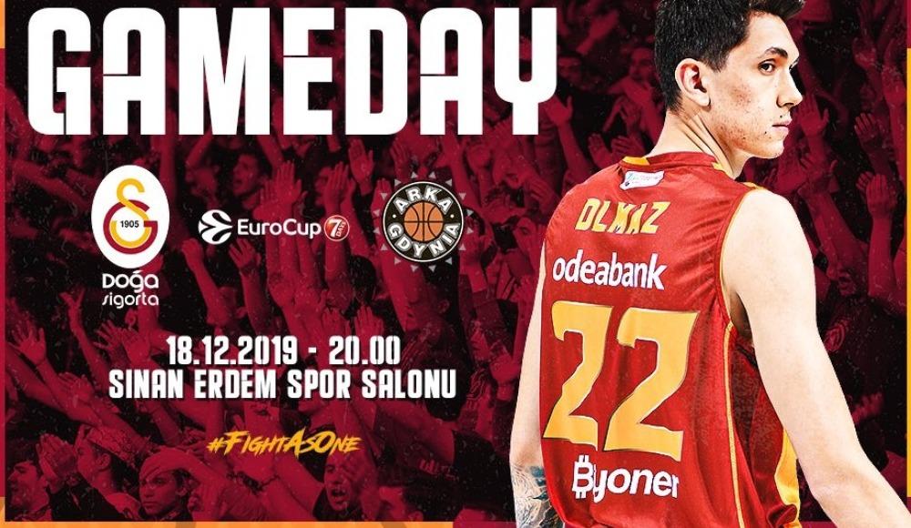 Galatasaray Doğa Sigorta - Arka Gdynia (Canlı Skor)