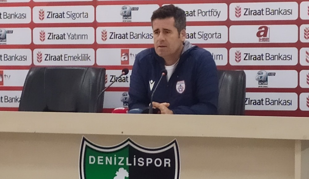 """Hüseyin Eroğlu: """"2-2'den sonra fırsatlar geldi ama değerlendiremedik"""""""