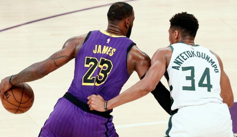 """Giannis Antetokounmpo: """"LeBron James bir uzaylı"""""""