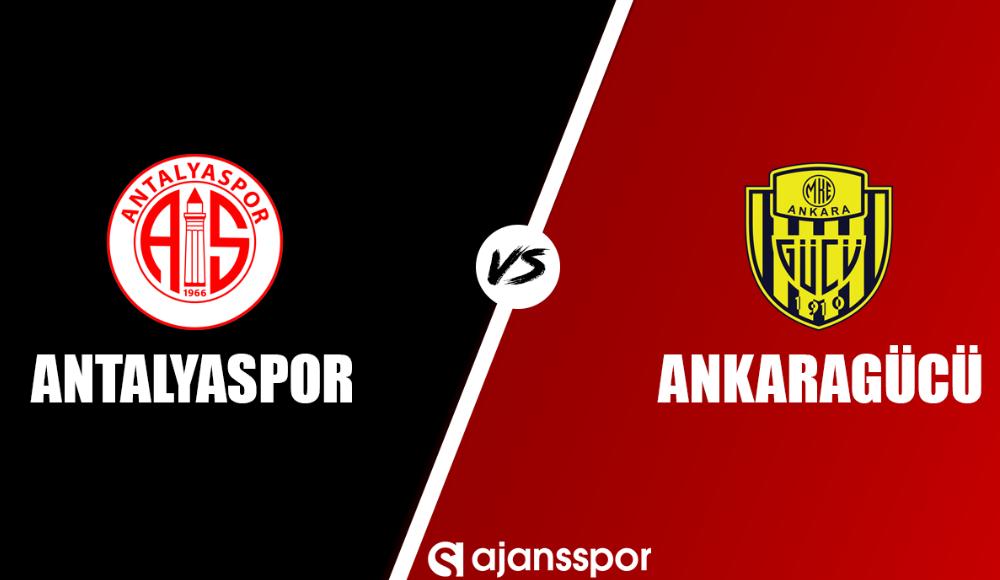 Antalyaspor - Ankaragücü (Canlı Skor)