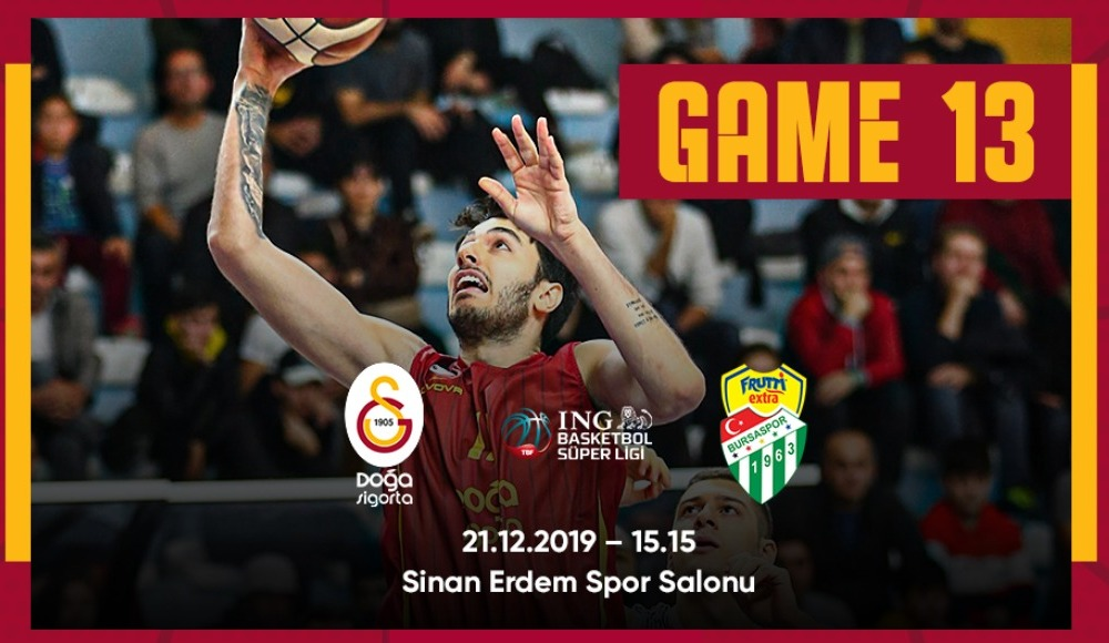 Galatasaray Doğa Sigorta - Frutti Extra Bursaspor (Canlı Skor)