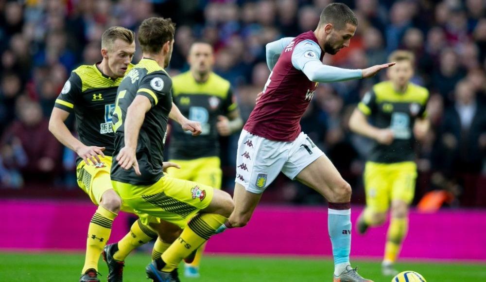 Southampton, Aston Villa'yı ateş hattına itti