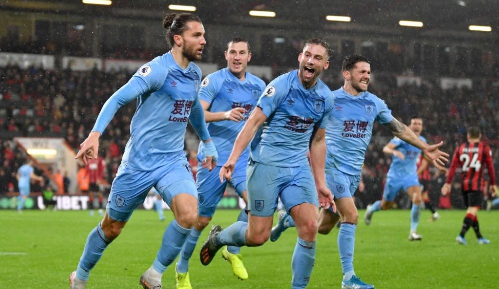 Burnley deplasmanda kazandı: 0-1!