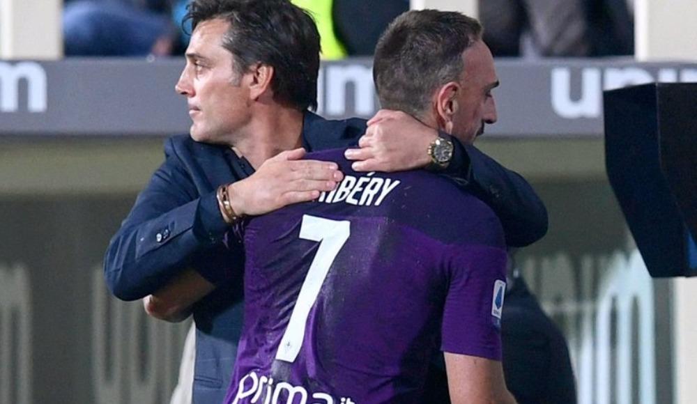 Franck Ribery'den Montella'ya veda mesajı