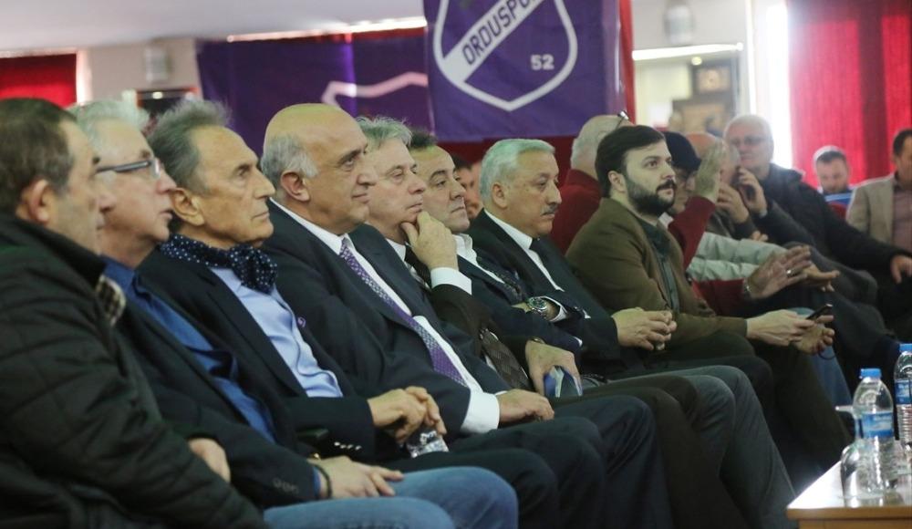 """Yeni Orduspor'un ismi """"52 Orduspor Futbol Kulübü"""" oldu"""