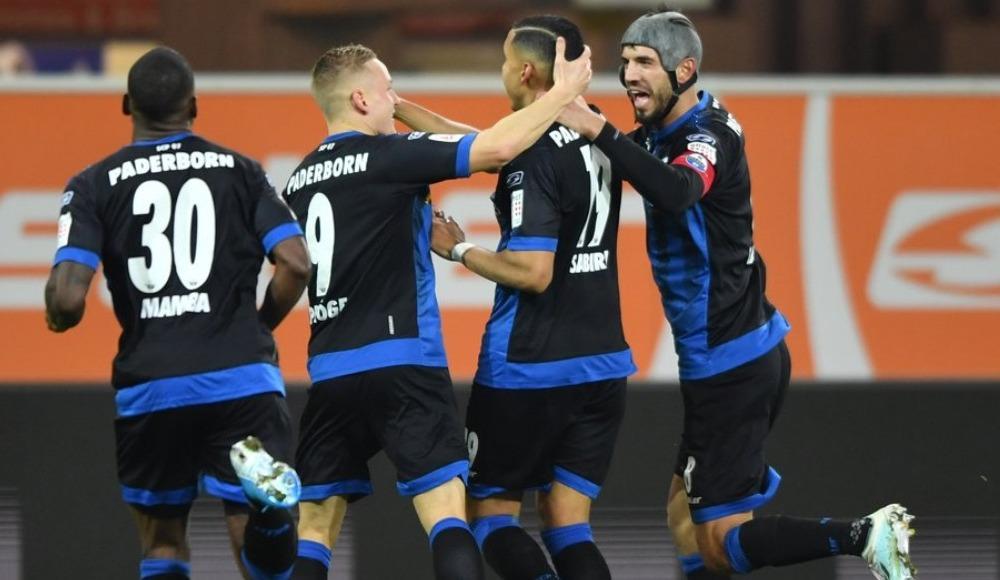 Paderborn, sahasında Eintracht Frankfurt'u iki golle geçti!
