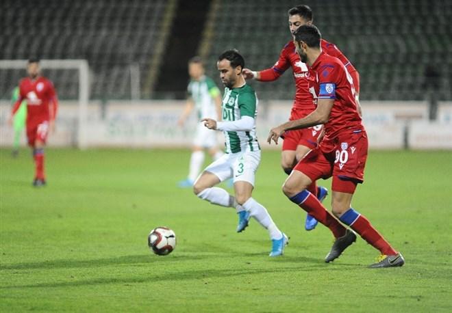 Giresunspor - Altınordu maçında kazanan çıkmadı! 1-1