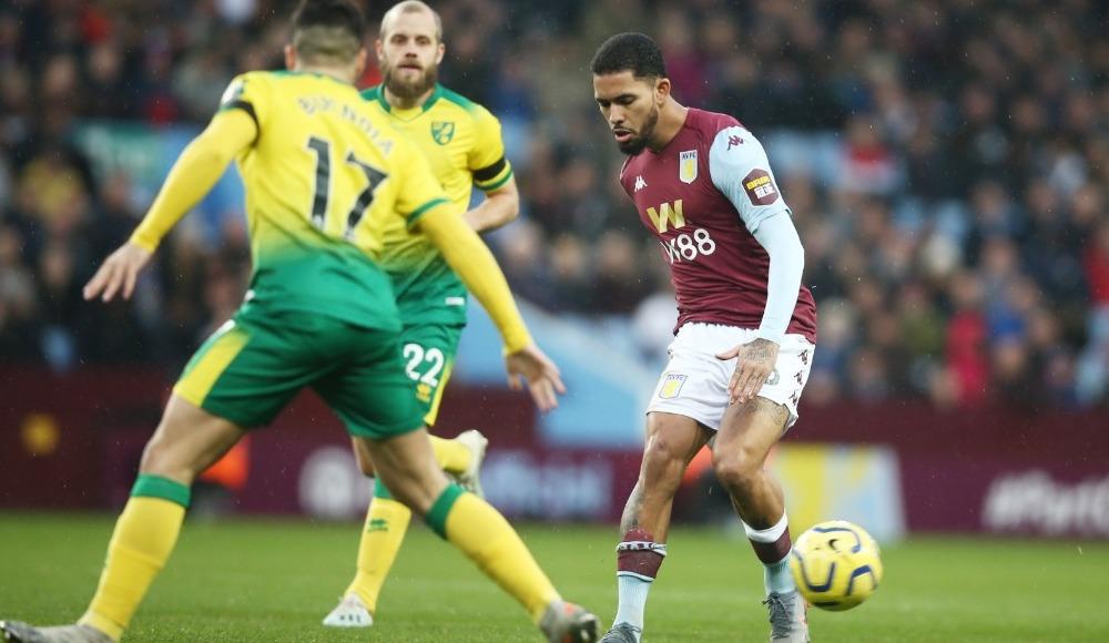 Aston Villa sahasında kazandı!