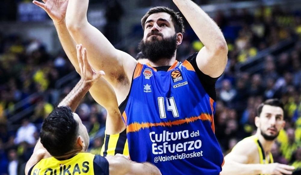 THY EuroLeague'de 16. haftanın MVP'si Valencia'dan Dubljevic!