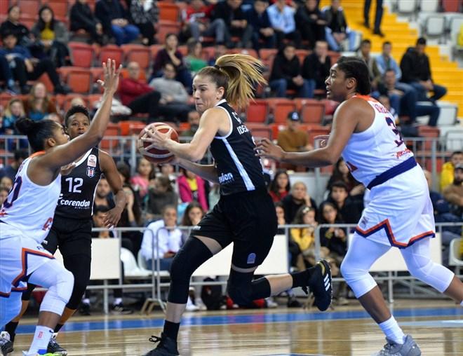 Basketbol - Beşiktaş TRC İnşaat, deplasmanda rahat kazandı!