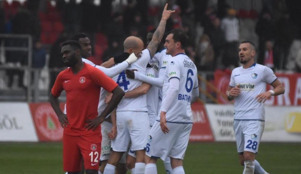BB Erzurumspor, ilk yarıyı galibiyetle kapattı!