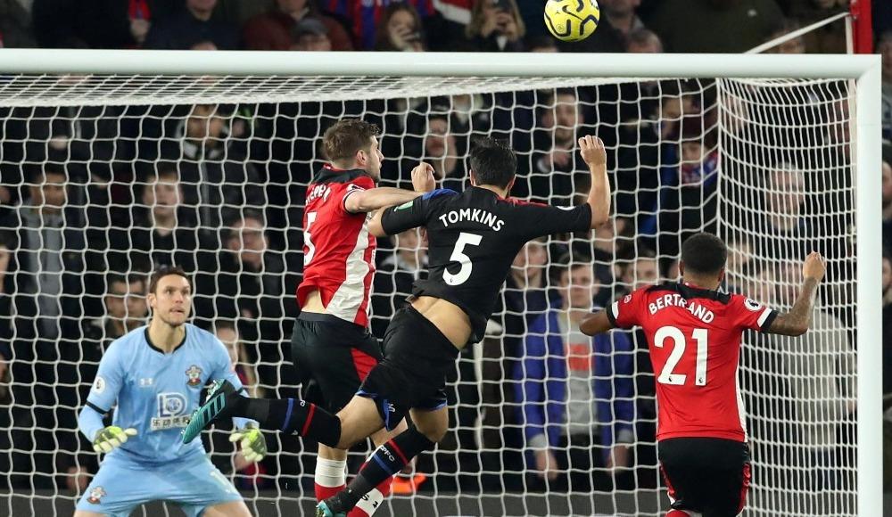 Southampton ile Crystal Palace puanları paylaştı! 1-1