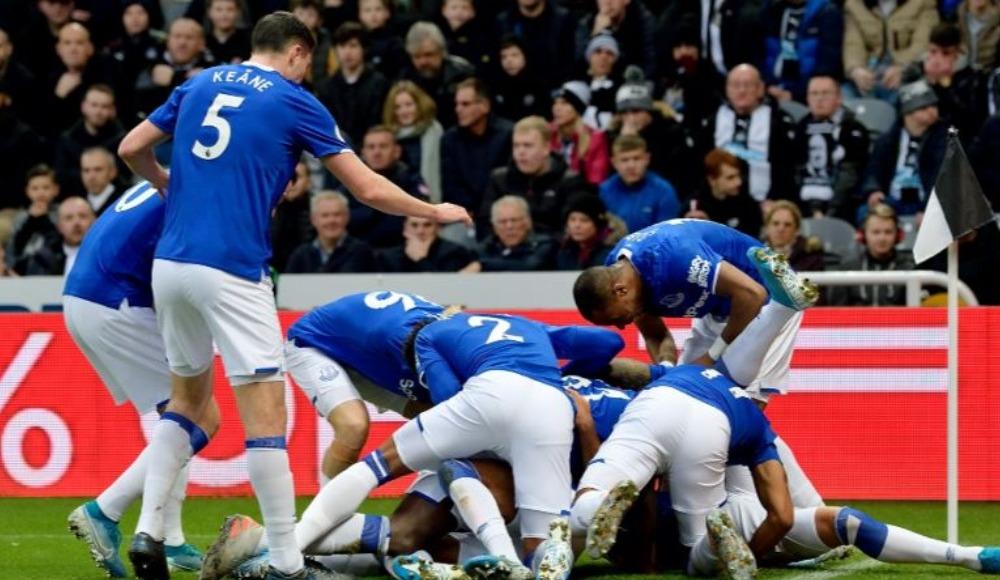 Everton kendine geldi: 1-2!