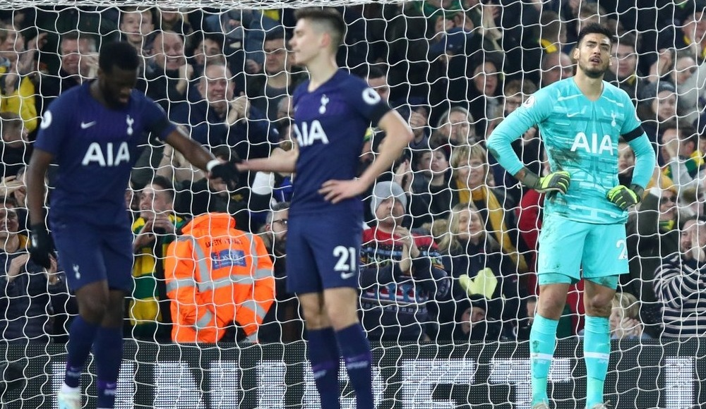 Tottenham'a Norwich City darbesi: 2-2!