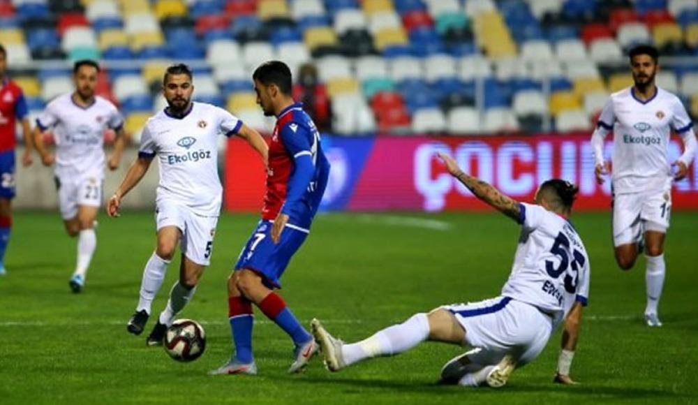 Menemenspor'un 10 maçlık yenilmezlik serisi sona erdi