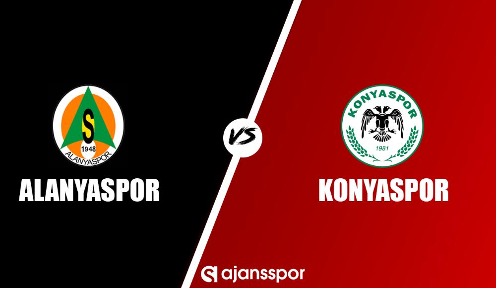 Alanyaspor - Konyaspor (Canlı Skor)
