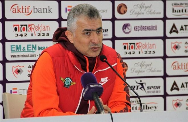 """Mehmet Altıparmak: """"Hedefimiz şampiyon olmak"""""""
