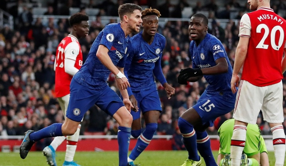 Londra derbisinde kazanan Chelsea! 1-2