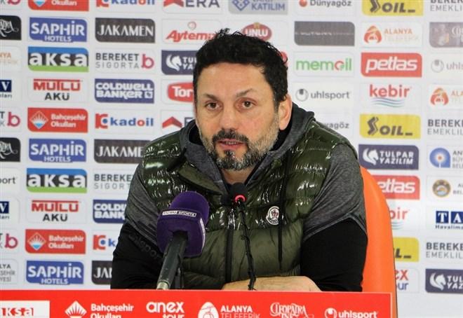 Erol Bulut'tan transfer ve Konyaspor maçı açıklaması