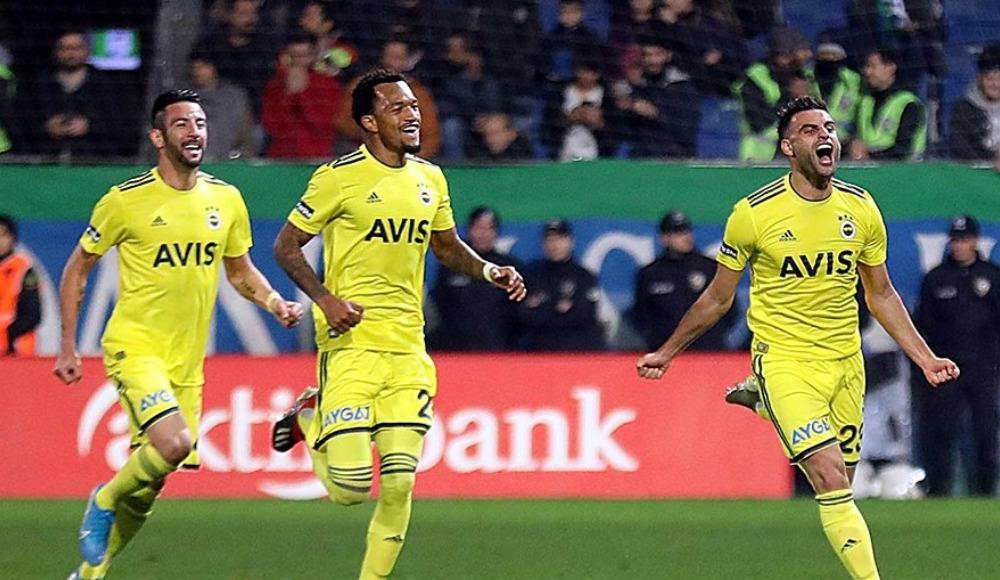 Fenerbahçe deplasmanda 4 maç aradan sonra kazandı