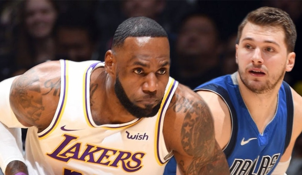 Lakers, LeBron'un performansıyla Mavericks'i devirdi