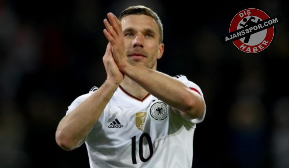 Lukas Podolski için sıraya girdiler!