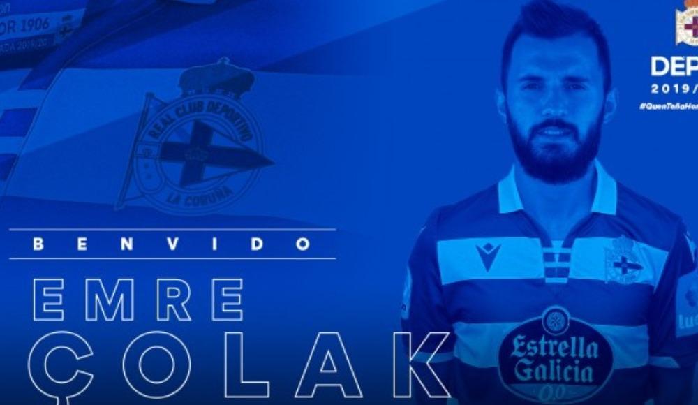 Deportivo, Emre Çolak'ı resmen açıkladı!
