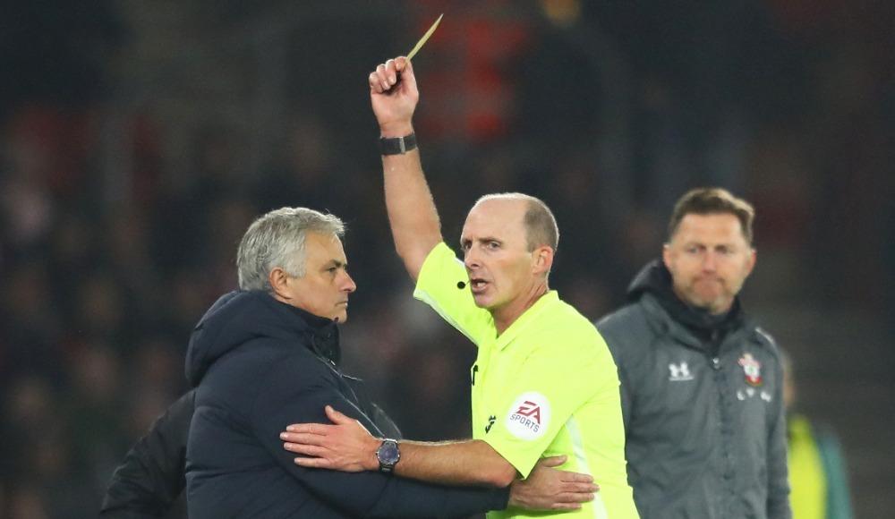 """Jose Mourinho'dan sarı kart açıklaması! """"Kaba davrandım ama..."""""""