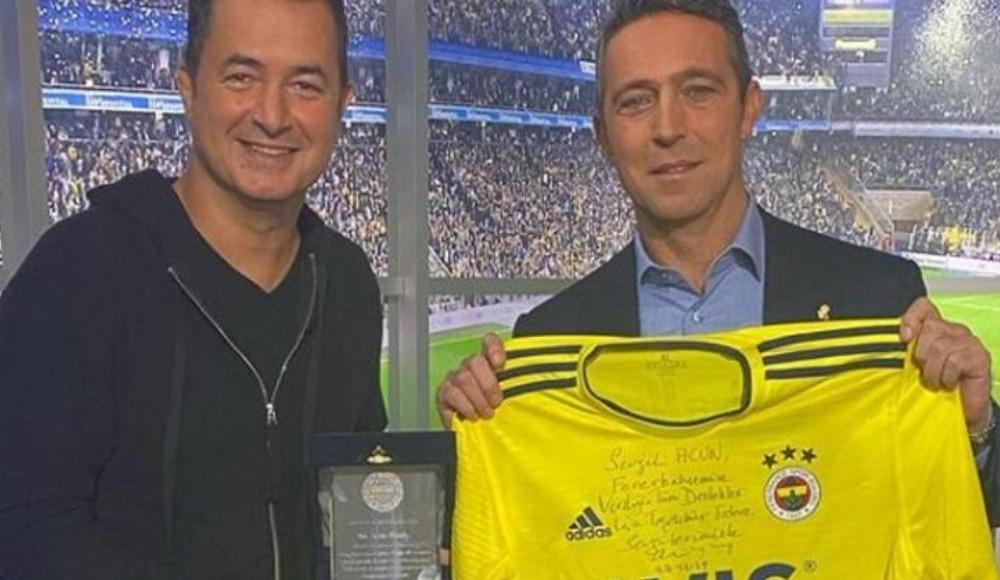 Acun Ilıcalı: 'Gönül verdiğim Fenerbahçe için...'