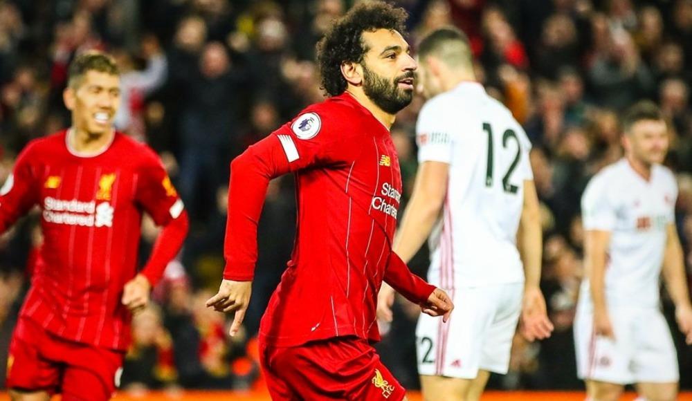 Liverpool'da yeni yılın ilk golü Salah'tan