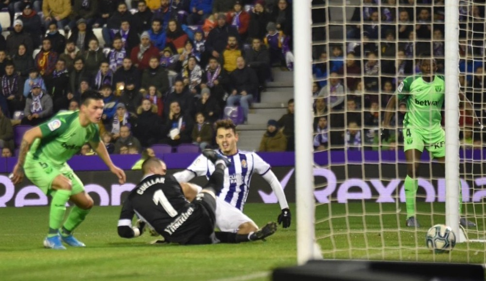 Enes Ünal yıldızlaştı; Valladolid 1 puanı kurtardı