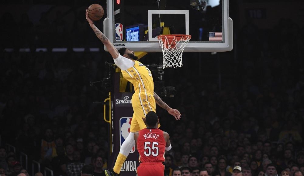 NBA'de Rockets ve Lakers yıldızlarıyla kazandı!