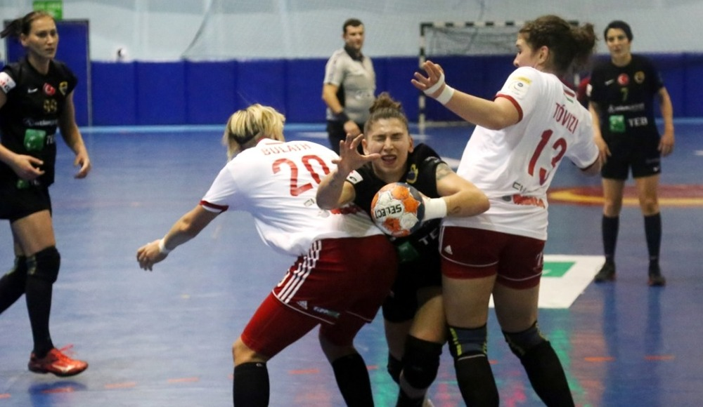 Kastamonu Belediyespor, Schaeffler'e 31-30 mağlup oldu