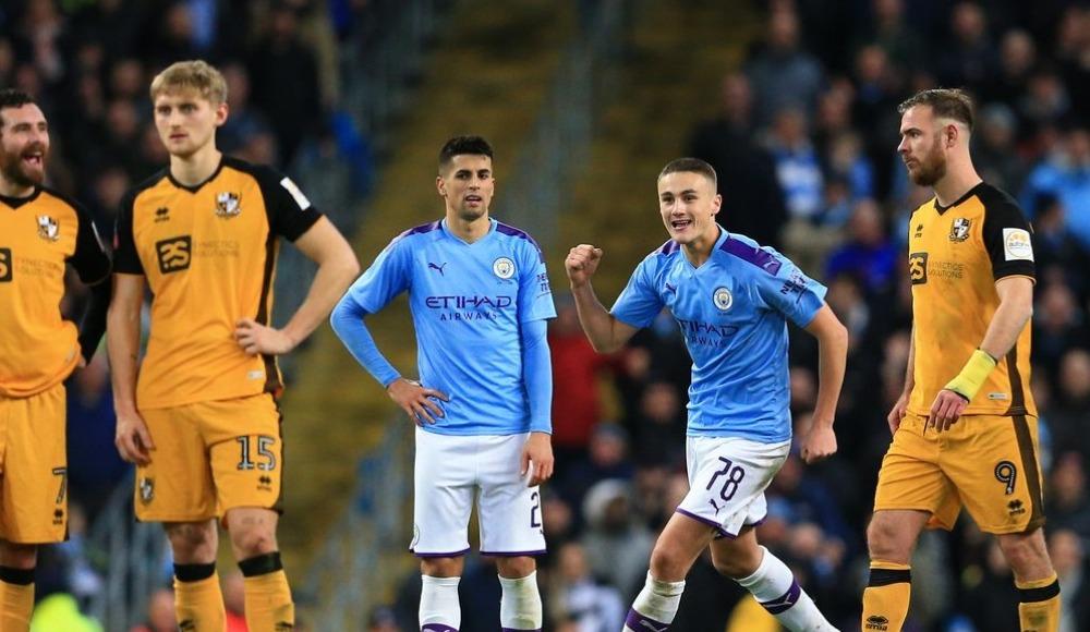 Manchester City kupada üst tura yükseldi!