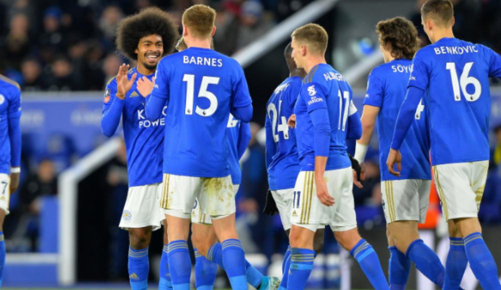 Leicester City, sahasında Wigan'ı 2-0 ile geçti!