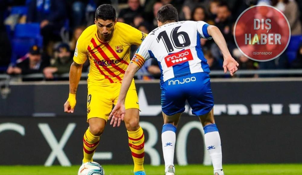 Barcelona'da 2020'nin ilk golü Suarez'den!
