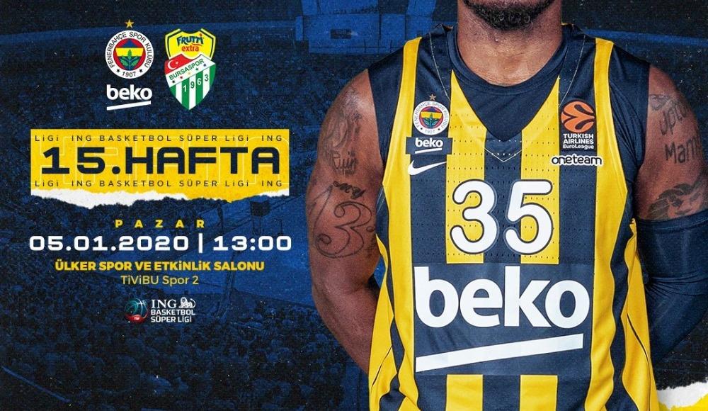 Fenerbahçe Beko - Frutti Extra Bursaspor (Canlı Skor)